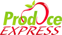Produce Express, Fresher Produce, Apple, logo